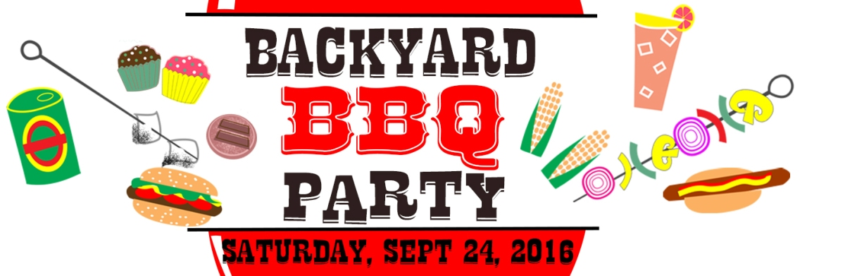 Backyard BBQ Party Sat Sept 24th